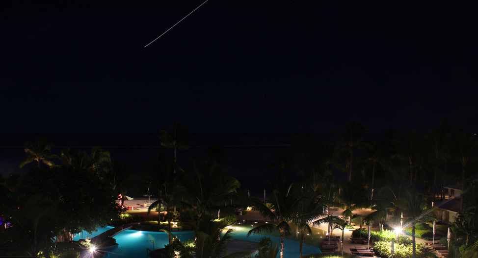 Shooting Star at Sugar Beach Resort & Spa