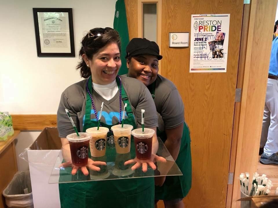 Starbucks reached out to us to offer caffeine and treats for our volunteers. Amazing!