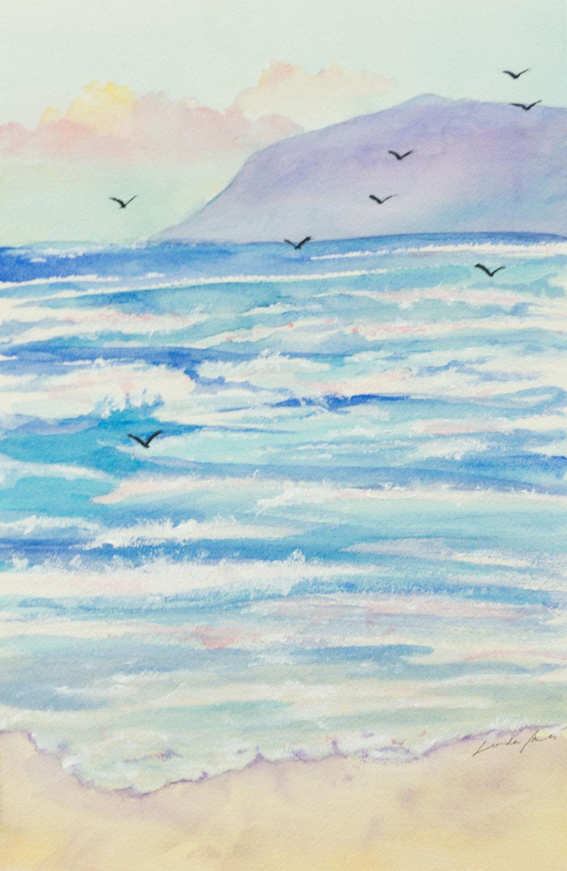 """Soaring the Evening Breeze,"" Linda Jones"