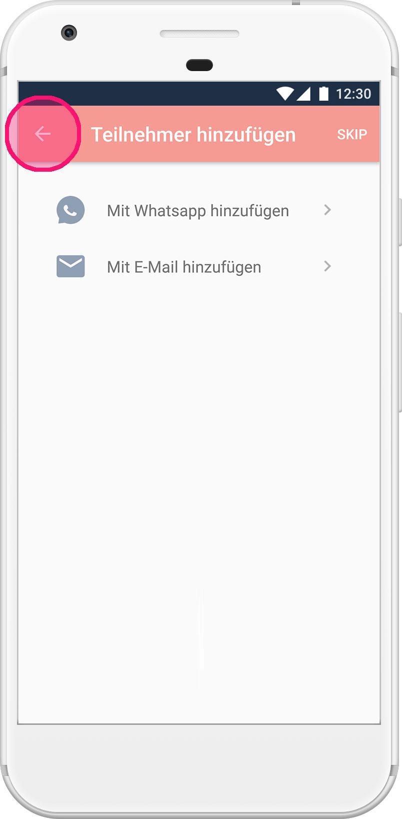 looping_app_tutorial_android_teilnehmer-einladen