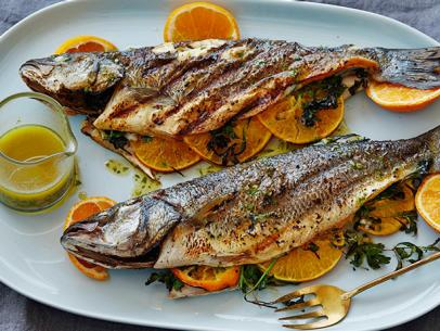 Grilled Seabass