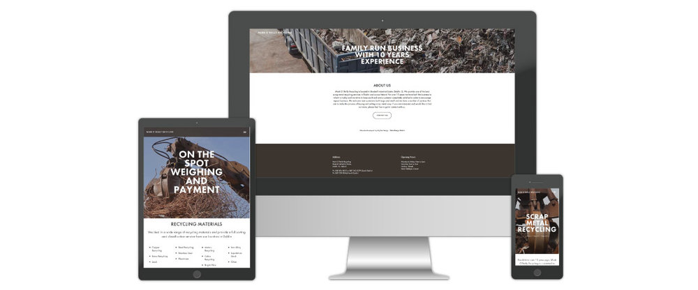 Web Design for Recycling