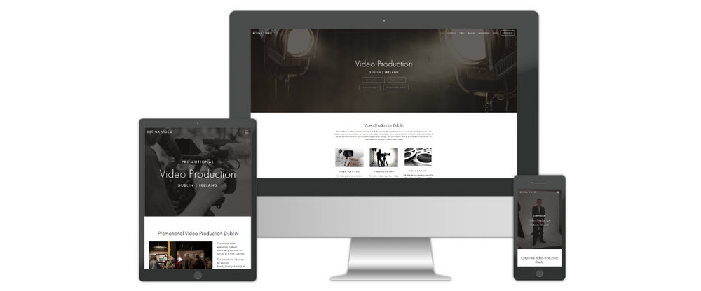 Production Services Web Design