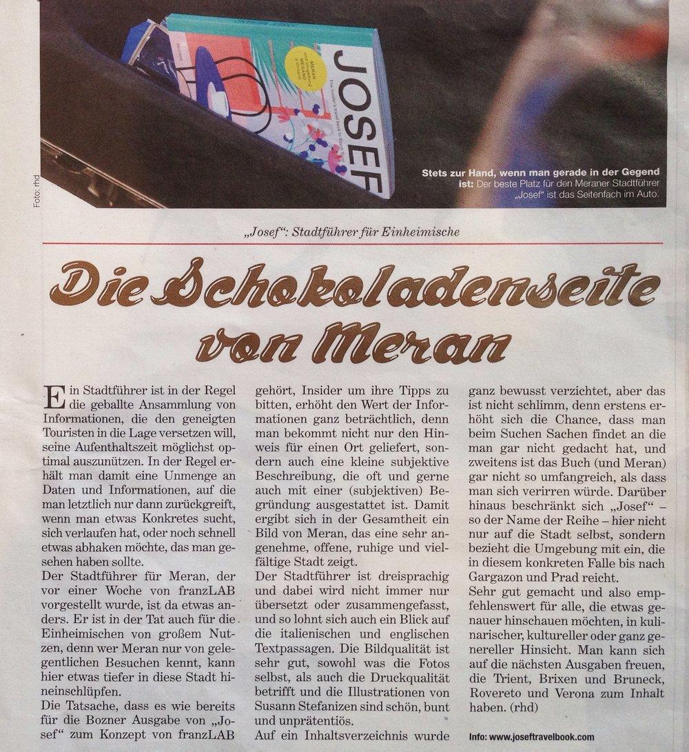Die Neue Südtiroler Tageszeitung