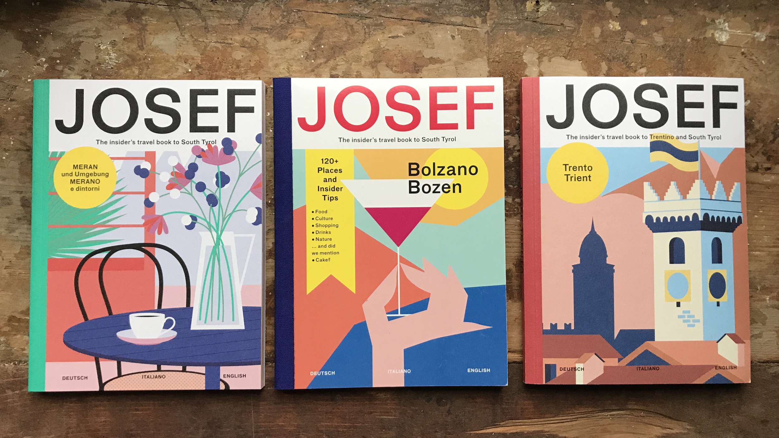 WHERE TO BUY — Josef Travel Book