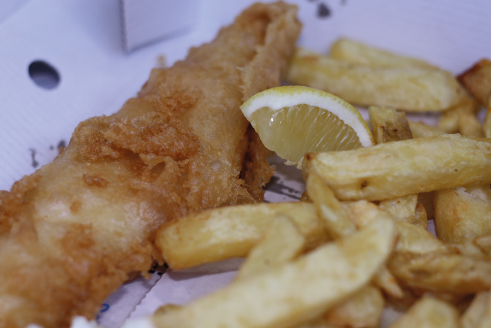 The Fish and Chips!