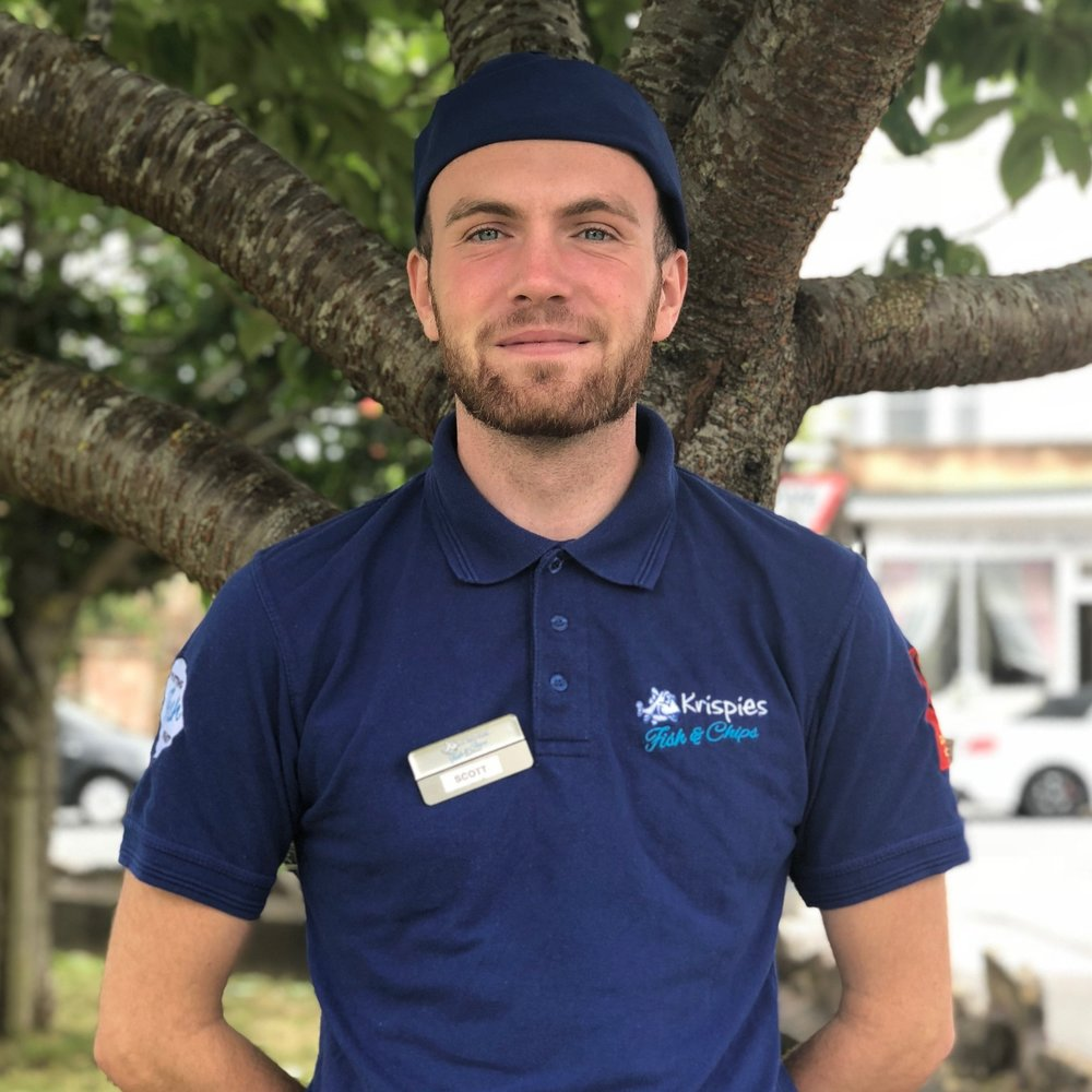 Scott Gezink - What is your job title?Counter ServerWhat does that mean?  Giving good customer service, smiling and having a good attitude. Making sure orders are done correctly and always being clean and presentable.Where are you from?ExmouthRead more about Scott...