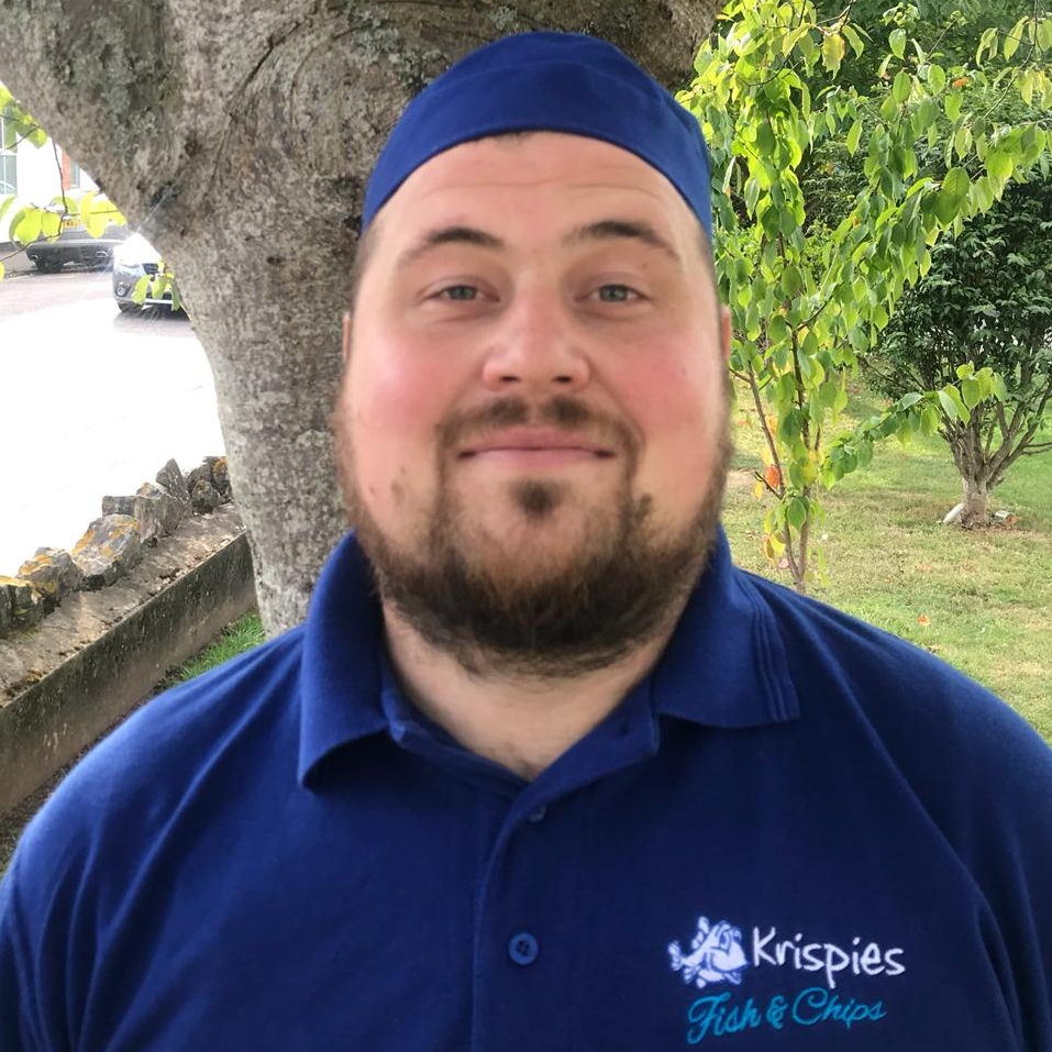 Gareth Ottewell - What is your job title?FryerWhat does this mean?I fry quality award winning fish and chips.Where are you from?ExmouthHow long have you been working at Krispies?I have worked at Krispies since May 2017.Read more about Gareth…