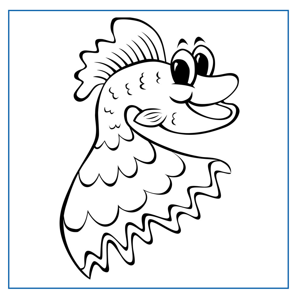 George Guppy - Click on my picture to print me out and colour me in
