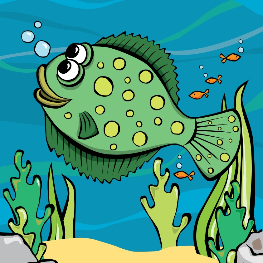 Billy Bass - Habitat: Out of reach of the fishermenOrigin: CornwallLikes: Hide and seek Fact: Billy can change colour to match his surroundingsColour in Billy Brass