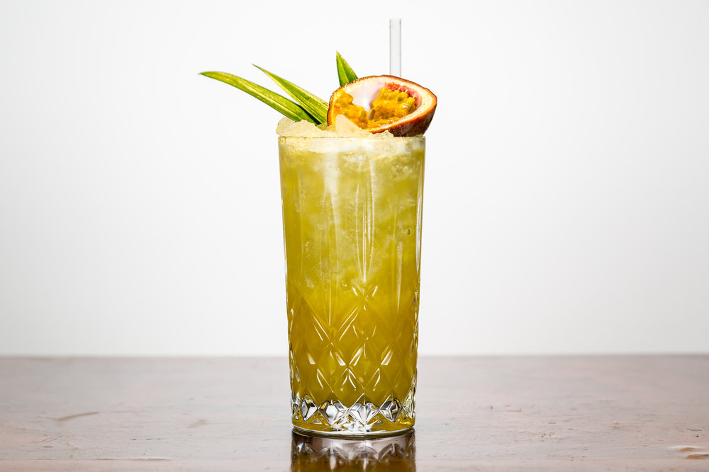 Passionfruit Collins