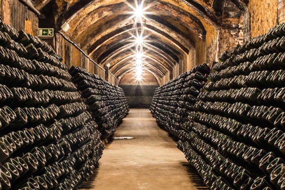 Spanish Cava Cellar