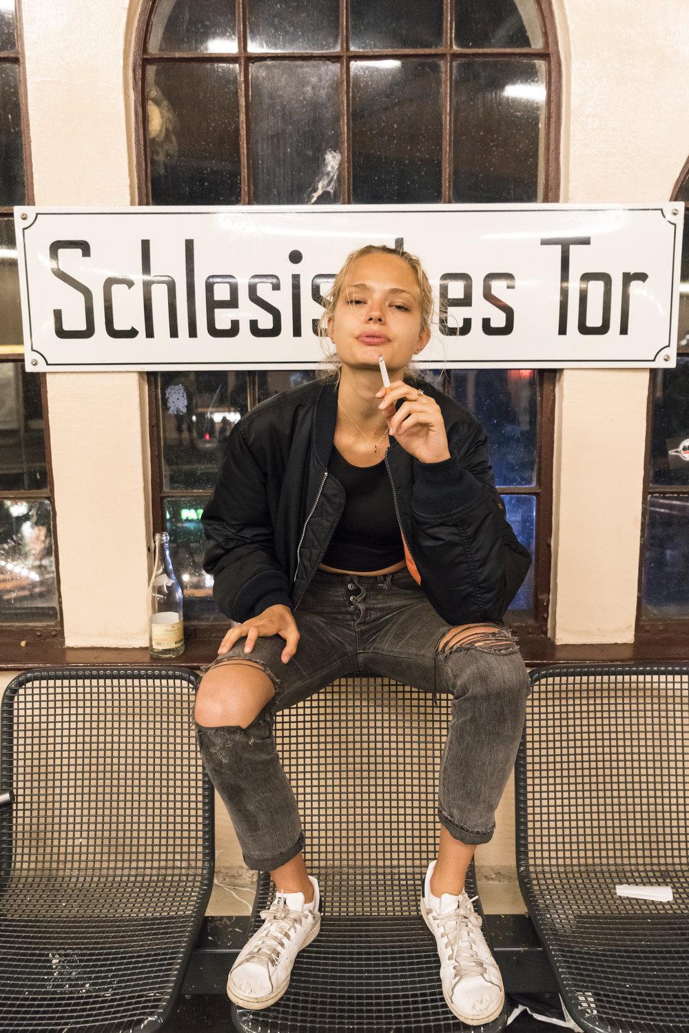 """""""Anna Unplugged #10""""  Edition of 5  Schlesisches Tor, 2016"""