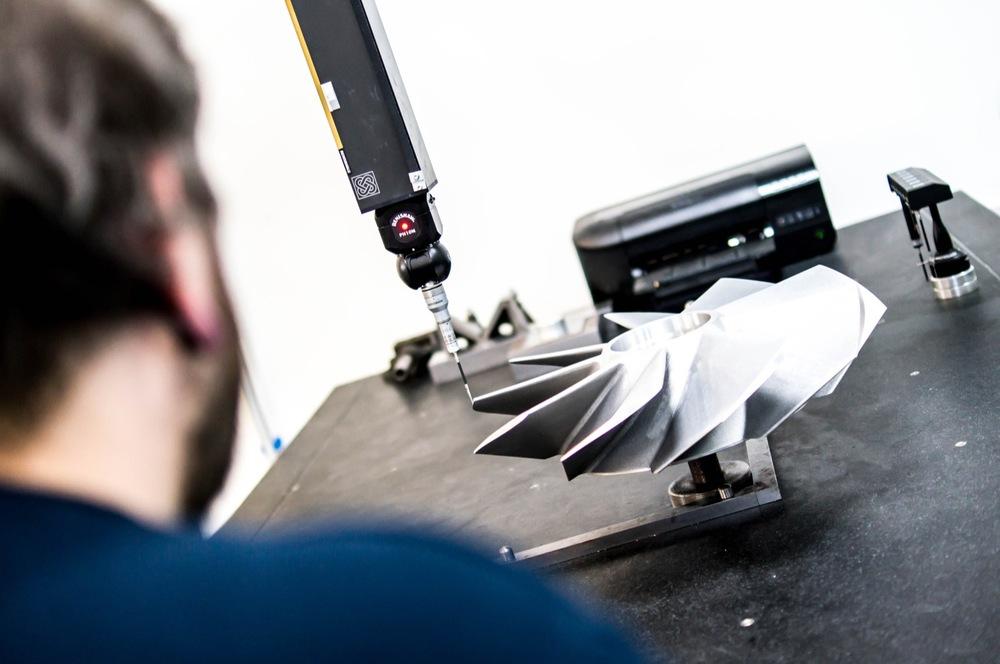 Aluminium sand casting - aerospace