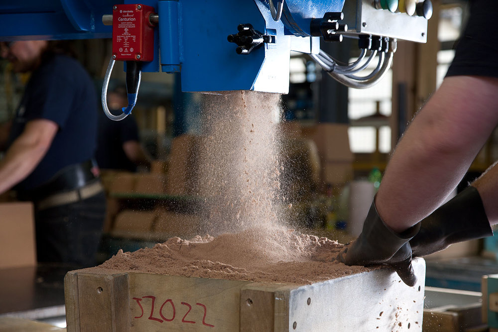 Process Improvements in sand casting