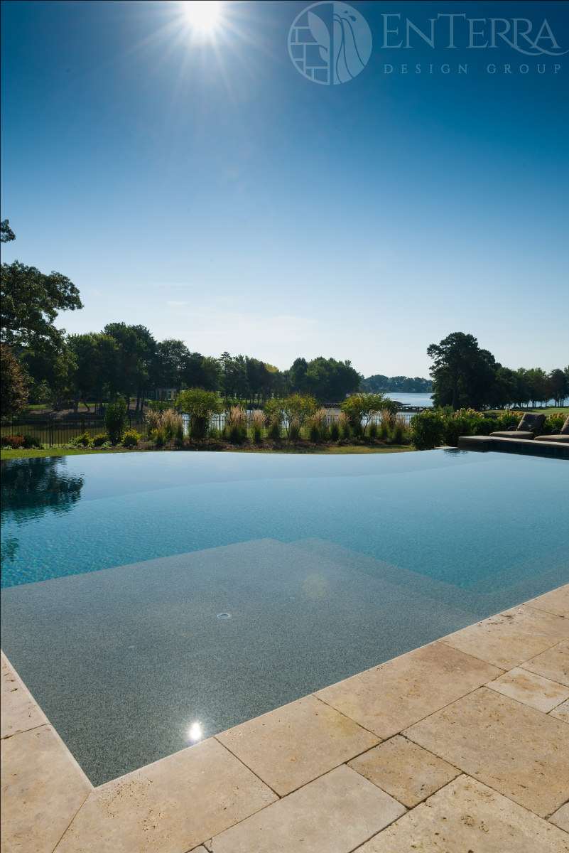 Tanning Ledge with a picturesque view of Lake Norman.