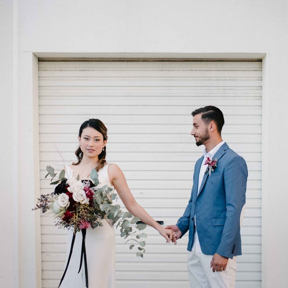 PERTH ELOPEMENT CO. After a small, intimate ceremony? Perth Elopement Co has you covered. I am lucky enough to be the Florist and Stylist for this brilliant Perth initiative!
