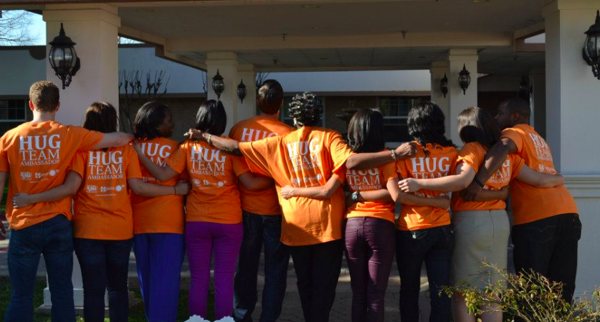 Project Hug ambassadors and volunteers, 2014