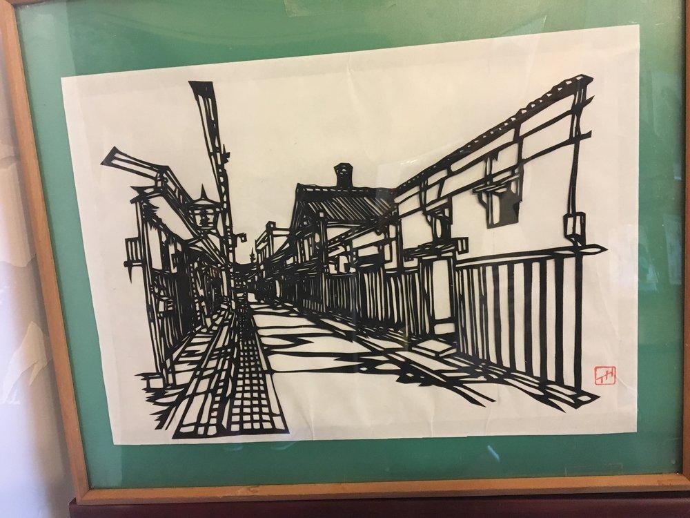 paper cut out artist
