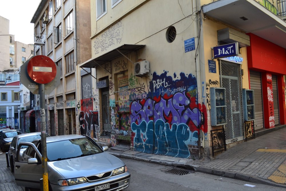streets of Athens, Greece