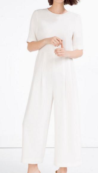 Zara waist seam jumpsuit £39.99
