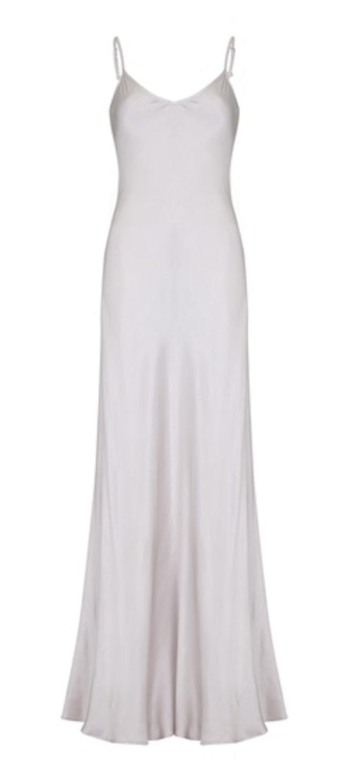 Mel Satin Dress £145.