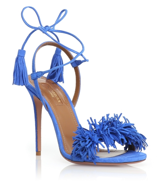 Aquazzura Blue Wild Thing £490