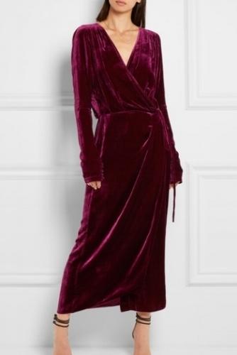 Attico velvet dress