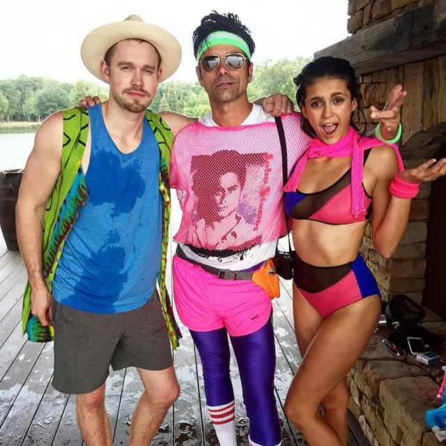 We refuse to let #summer or #the80s be over!  @nina @chordover #laborday