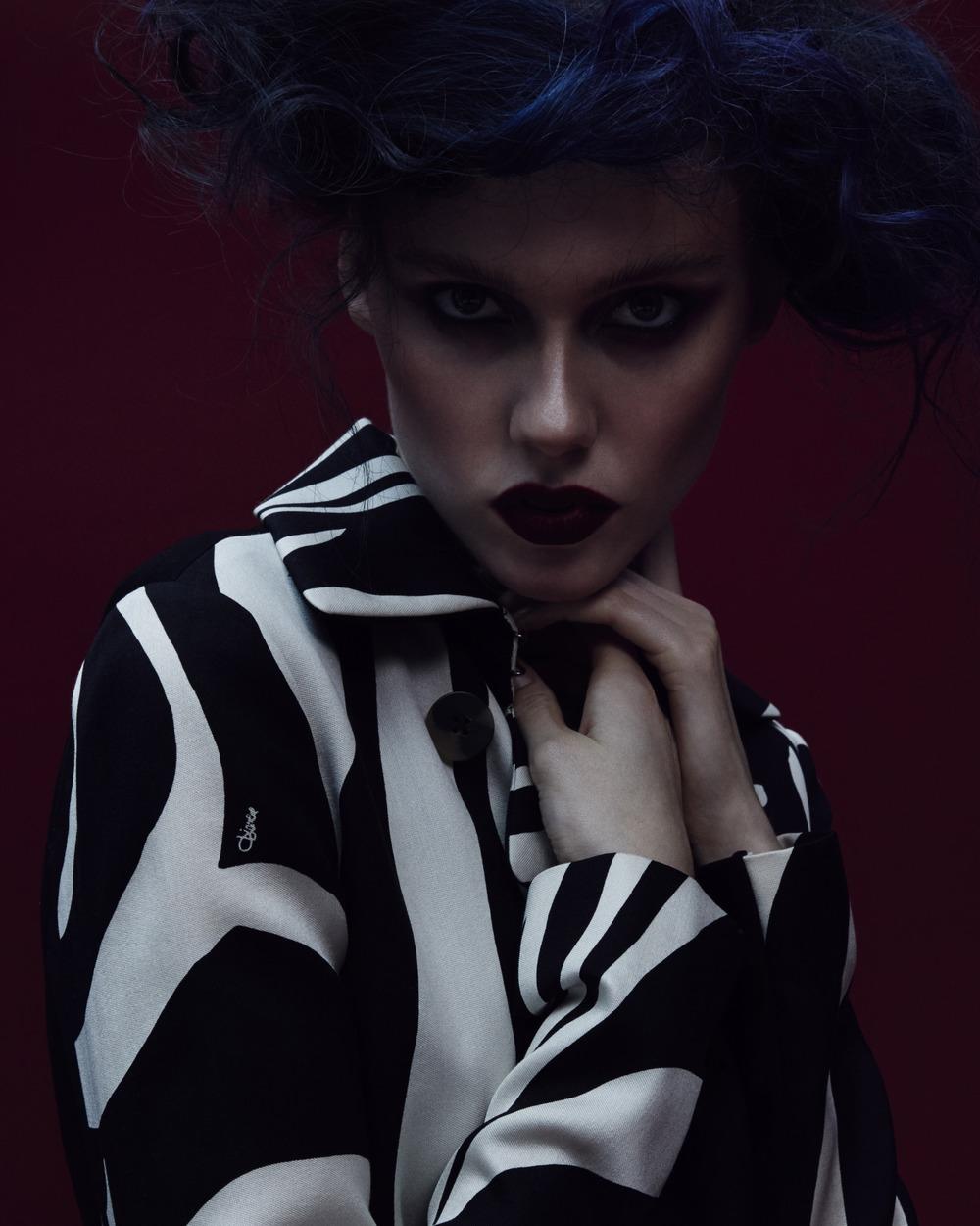 W Magazine Online, November 2. 2015  photography Jerome Corpuz, hair Neil Grupp, stylist Caroline Groso