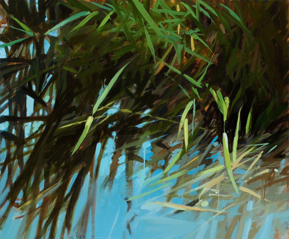 Pond III   30 x 36 inches  oil on canvas - SOLD