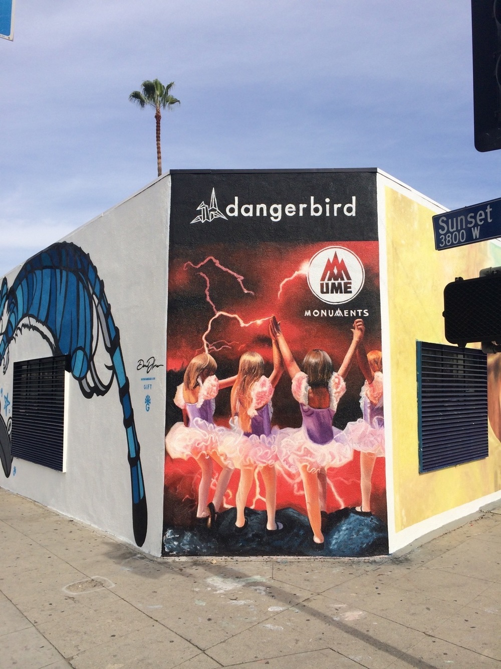 Dangerbird Records-UME-Hand Painted Mural.jpg