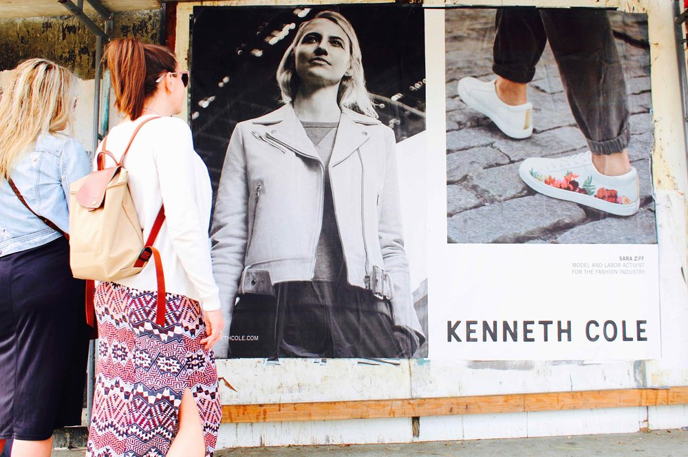 OMG | Guerilla Marketing | Wild Posting | Kenneth Cole | Los Angeles