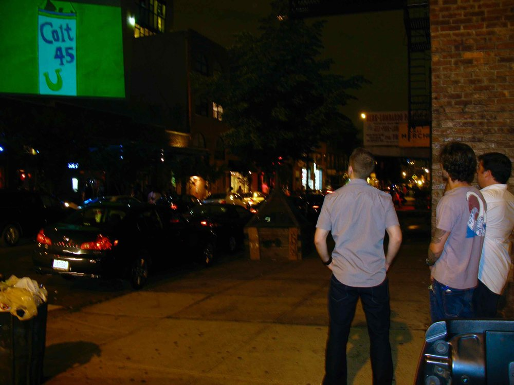 OMG | OnMedia |Guerilla Marketing | 2D Projections Media| New York | NYC |Brooklyn | Colt 45.jpg