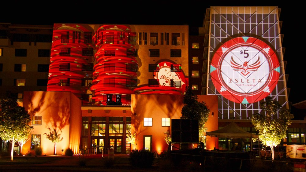 OMG | OnMedia | Experiential Marketing | 3D Architectural Projections | Projection Mapping | Isleta casino | new mexico-2.jpg