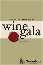 Wine Gala for Guide Dogs