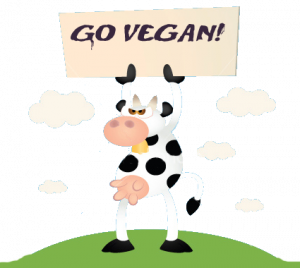 Vegan Cow Care of: http://www.veganmonth.com