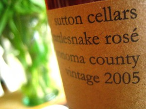 sutton cellars rose, thanks to nate uri on Flickr