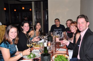 Friends Celebrate with Pour Favor at Central Kitchen
