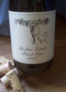 Becker Pinot Noir