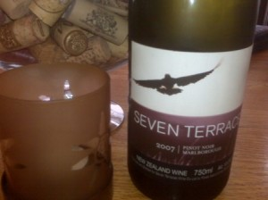 Seven Terraces Pinot Noir 2007