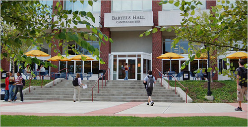 University of New Haven's Bartels Hall