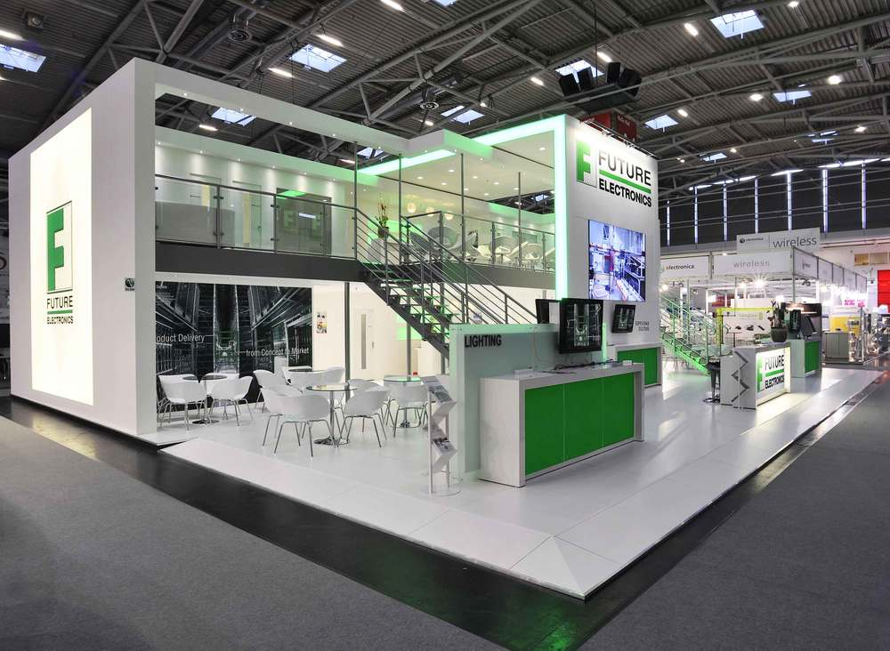 Exhibition Stand Futuristic : Presentations international ltd