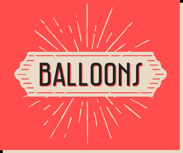 Personalised Balloons Edinburgh