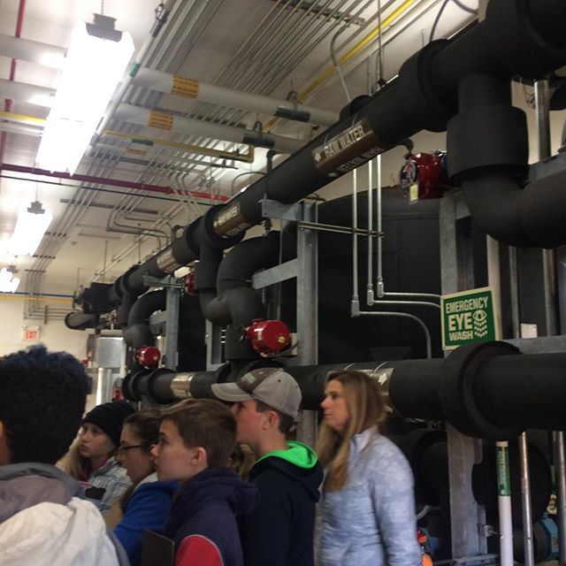 Last fall, Life Science students (grades 6-7) learned where Newport City water comes from and how it's treated by visiting the Water Treatment Plant on Coventry Street.  They then toured  the Wastewater Treatment Plant to see how wastewater is processed and cleaned before reentering the lake. This was part of a long term project on studying the water quality of Lake Memphremagog. #ucacrusaders #lifescience #handsonlearning