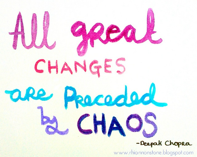 chaos and change