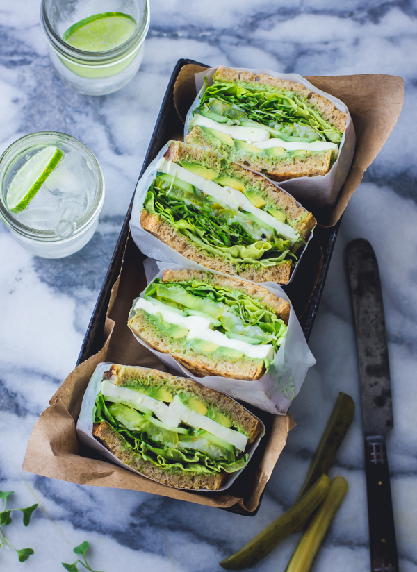 Green Goddess Sandwich from Bojon Gourmet
