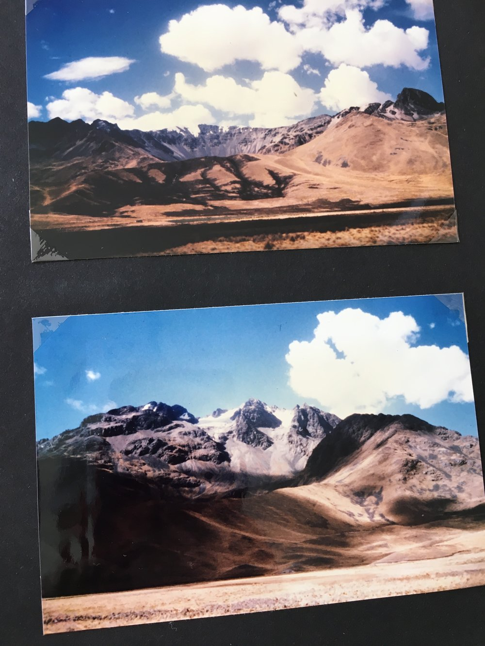 on the way to Cusco, Peru in 1987