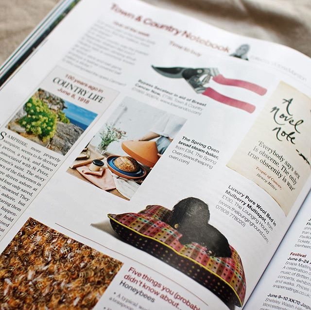 Great to be featured in this week's @countrylifemagazine for their 'time to buy' section! • Find out more on the website link in bio.