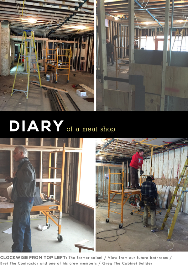 meat shop construction